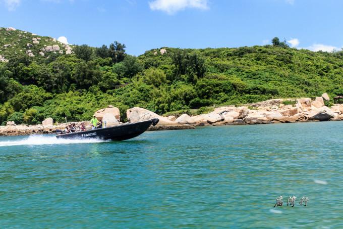 珠海海岛旅游季,到庙湾岛去看海