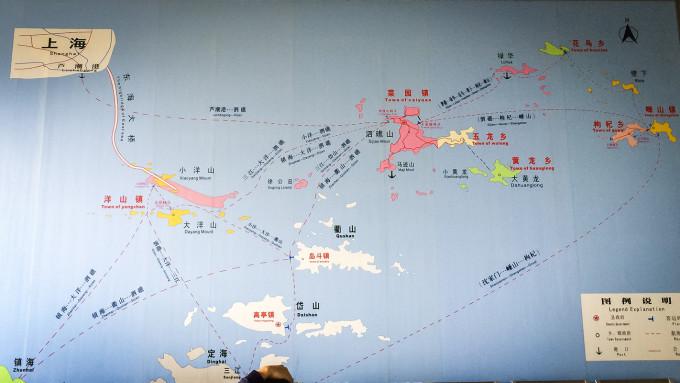 上海周边的蓝色海水小岛——枸杞岛(10.30--11.01 2014)