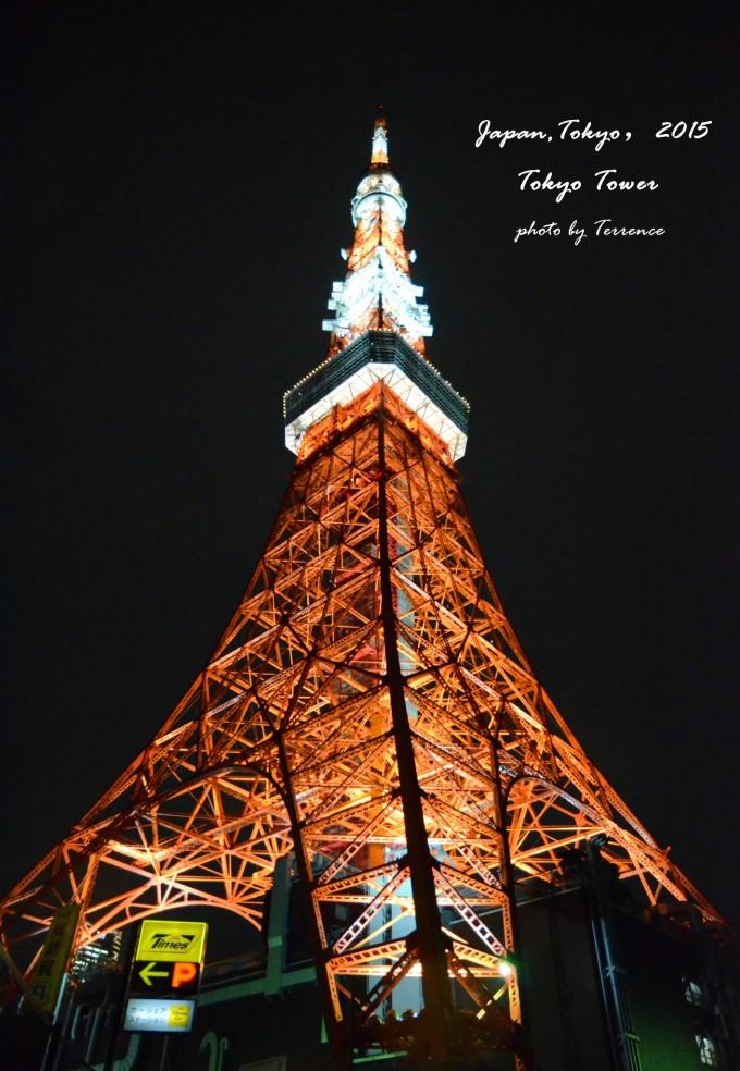 东京塔以巴黎埃菲尔铁塔为范本而建造