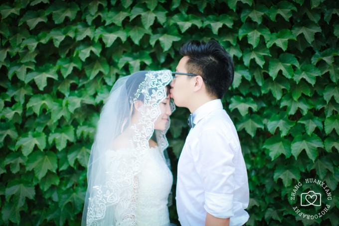消夏计划#逗比夫妇自拍婚纱照——乌拉盖草原自驾游