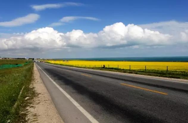 美丽的青海我的家乡——最美的风景在路上