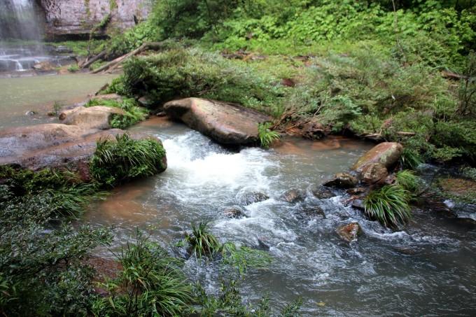 徒步穿越赤水狮子岩原始森林