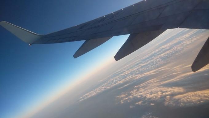 飞机上看到悟空