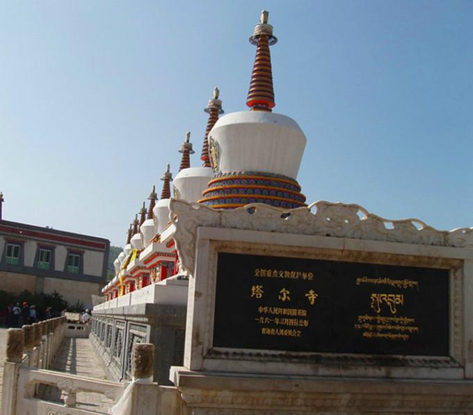 当然,塔尔寺的有名主要还是因为藏传佛教格鲁派(俗称黄教)创始人宗喀