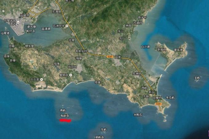 广东汕尾 龟龄岛