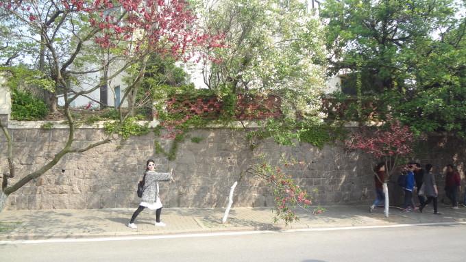 青岛信号山路红房子