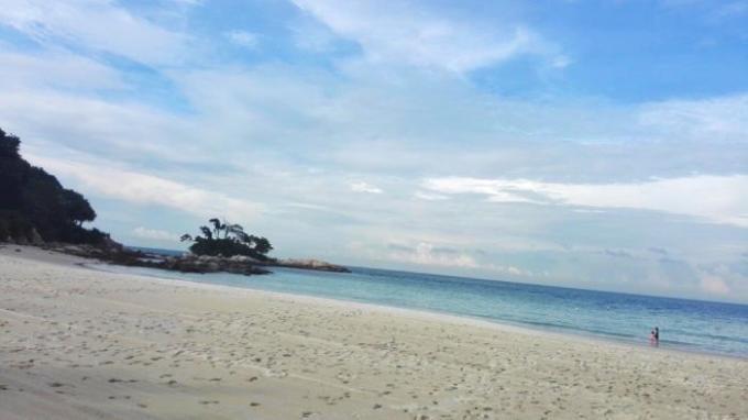 民丹岛精致热带海岛游记